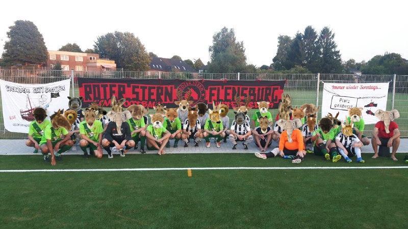 Fussball Herren 10 Jahre Roter Stern Flensburg